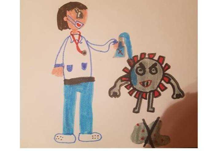Lo sguardo dei bambini, una pozione contro il coronavirus