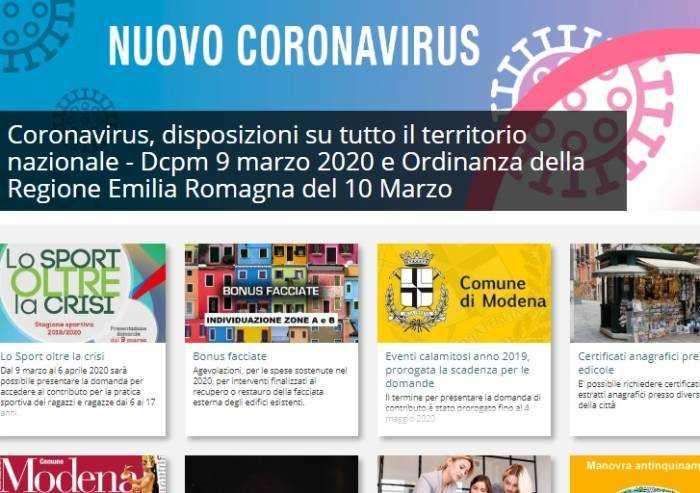 Emergenze ai tempi coronavirus: come il Comune comunica coi cittadini