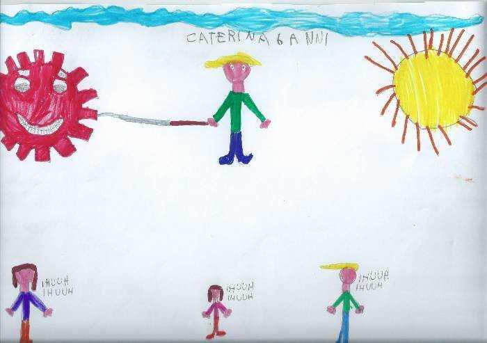 Lo sguardo dei bambini, una lancia contro il coronavirus