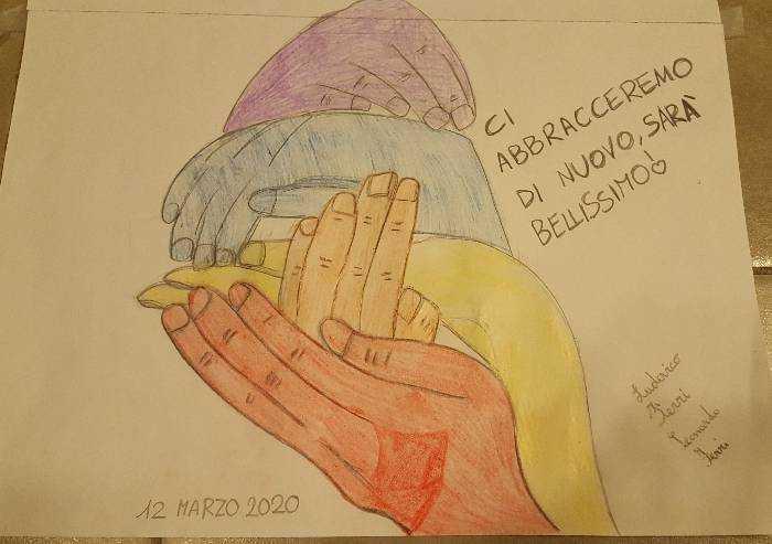 Ludovico e Leonardo a La Pressa: ci abbracceremo di nuovo