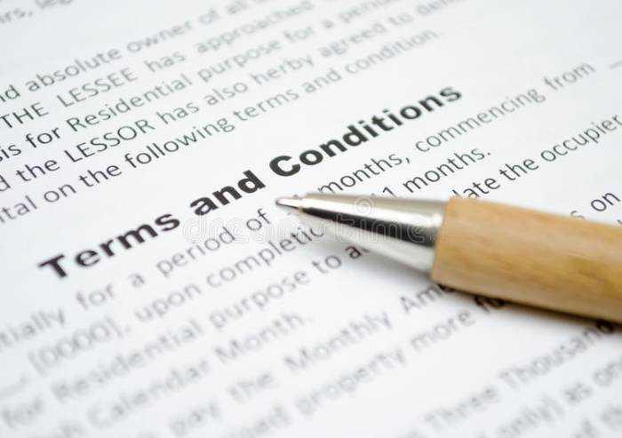Termini e condizioni: pagine noiose dietro cui si celano... contratti