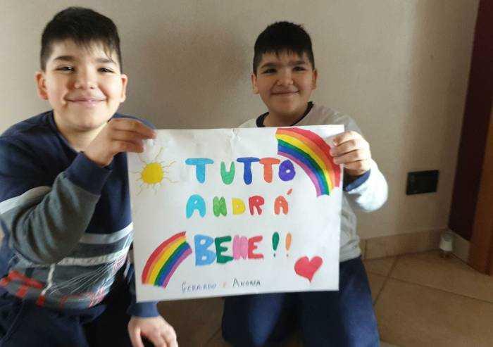 Il sorriso di Gerardo e Andrea per superare il coronavirus