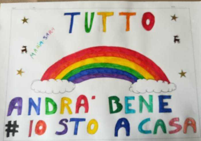 Due nuvole e un arcobaleno, Maria Sara supera così la paura