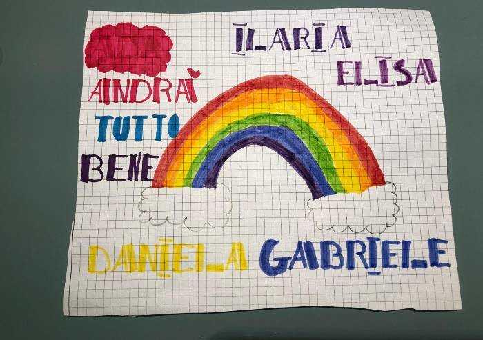 I colori di Ilaria, Elisa, Gabriele e Daniela