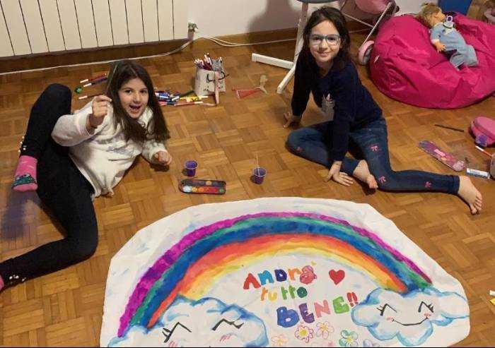 Syria e Marika: un arcobaleno col sorriso