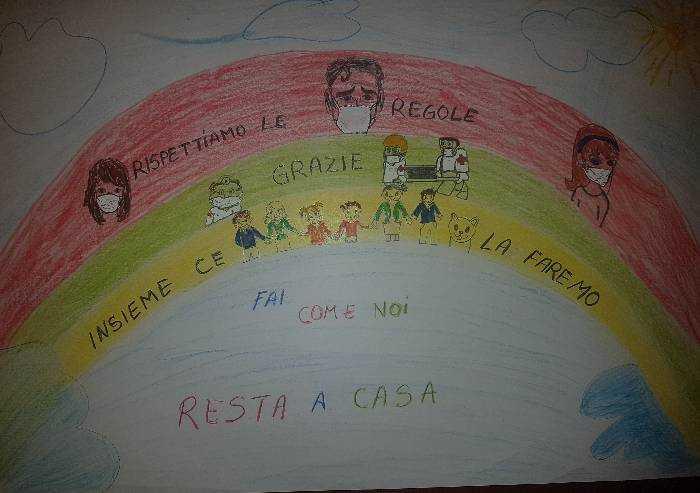Giorgia, Mariagiulia e Antonio: un arcobaleno di Speranza