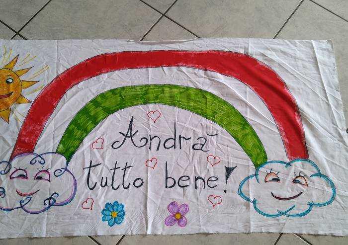 Un arcobaleno Tricolore che possa proteggere l'Italia