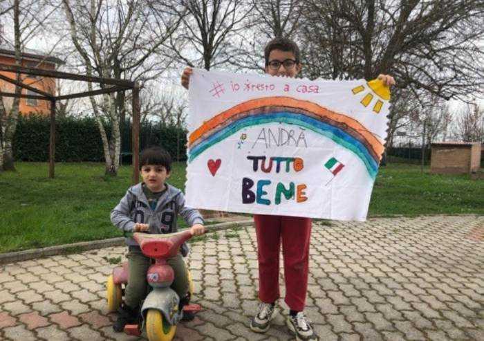 Federico ed Alessandro: un cuore e un tricolore