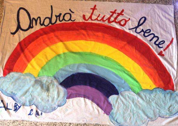 L'arcobaleno di Alberto e Alessandro