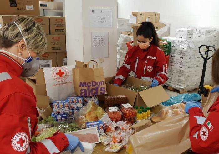 Coronavirus, appello della Croce Rossa Modena