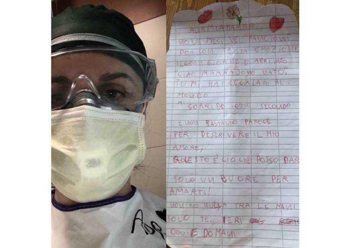 La poesia di Thomas per la mamma infermiera
