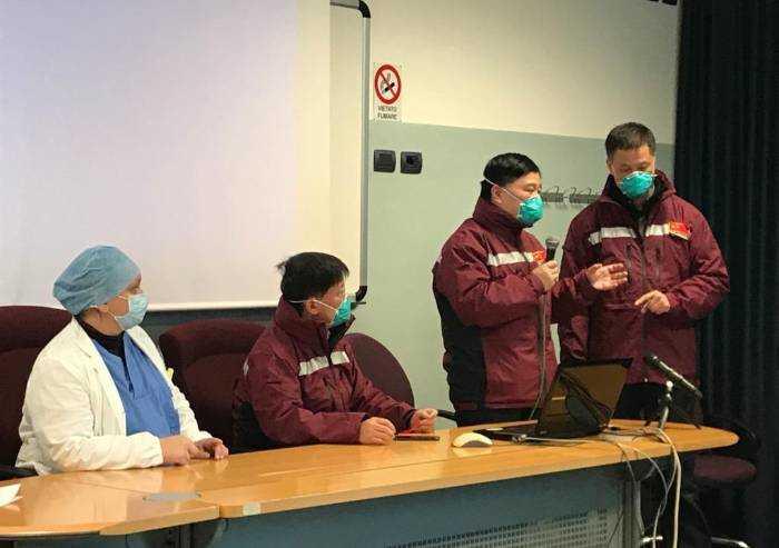 Delegazione cinese in visita al Policlinico di Modena