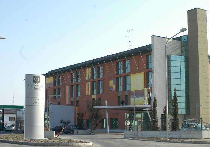 San Possidonio, ecco l'hotel dove vengono isolati i pazienti non gravi
