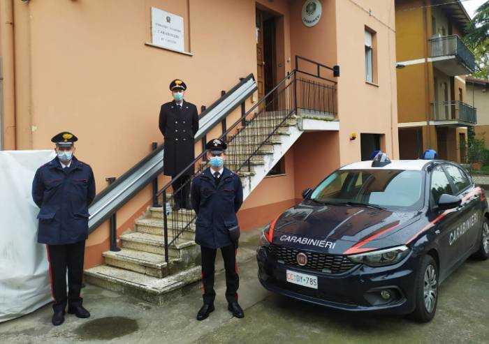 Cavezzo: la stazione dei Carabinieri riaperta al pubblico