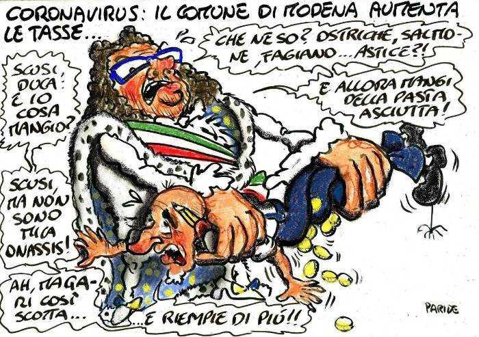In piena pandemia Muzzarelli a Modena aumenta le tasse