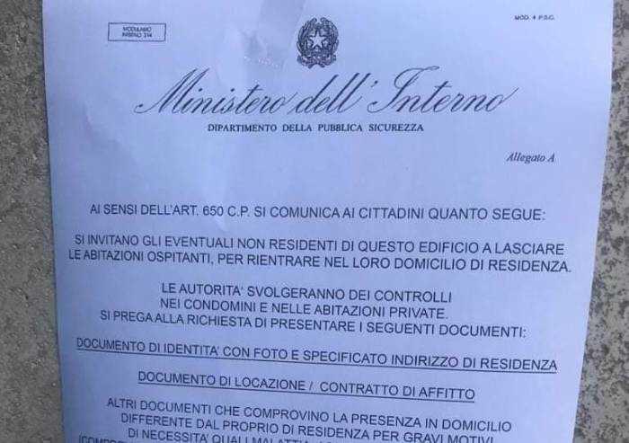 Virus, falso volantino sui non residenti anche a Modena: è una truffa