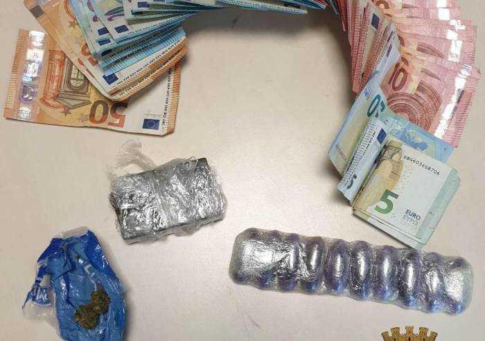 In hotel con la droga: arrestato 29enne irregolare