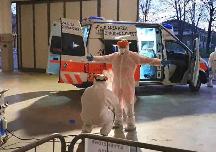 Coronavirus, in provincia 6 stazioni di bonifica dei mezzi del 118