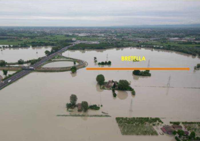 Bretella, la delibera della Regione e il rischio alluvionale