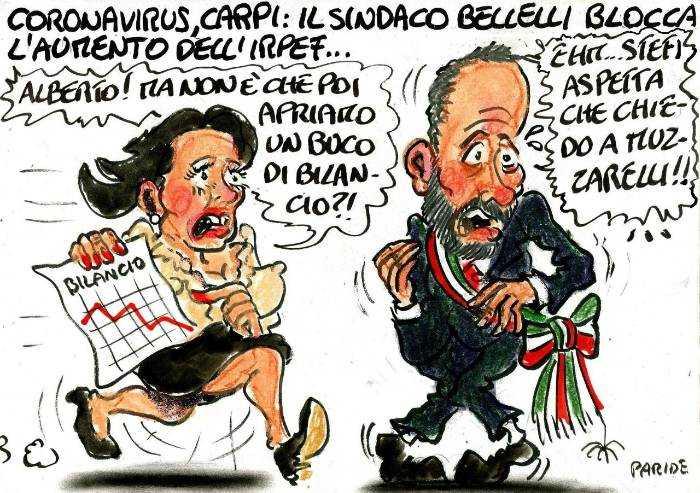 Il blocco dell'aumento Irpef e le angosce di Bellelli