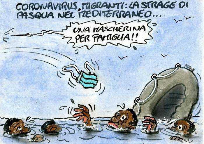 Migranti e coronavirus