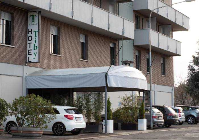 Hotel Tiby a Modena da ieri ospita i pazienti positivi al coronavirus