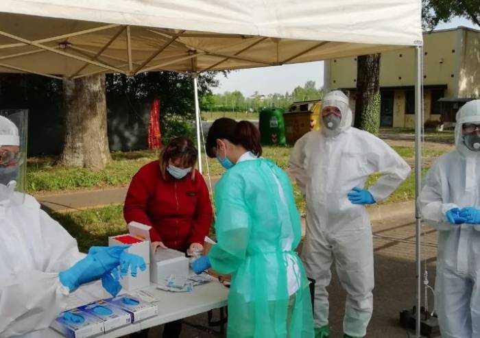 Coronavirus: al via lo screening sulle forze dell'ordine
