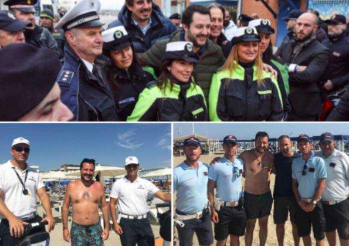 Salvini deride la polizia municipale: ira del Sulpl