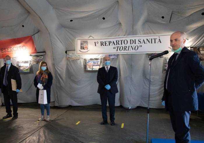 Coronavirus, a Piacenza chiude l'ospedale da campo militare
