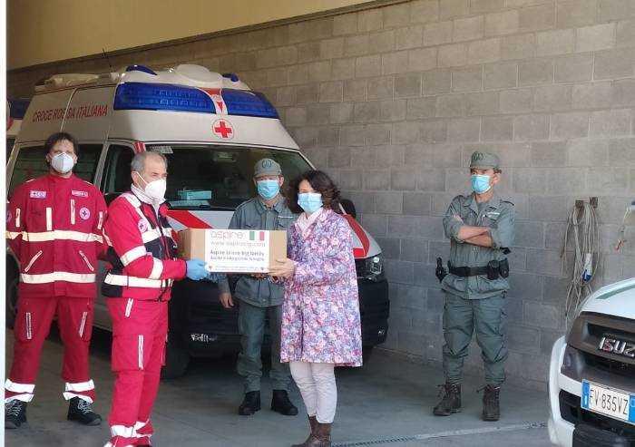 Donate 200 mascherine alla polizia provinciale di Modena