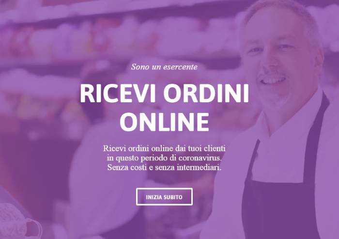 Modena, ecco spesa1click: piattaforma gratuita per consegna domicilio