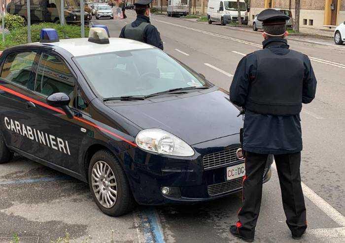 Controlli spostamenti: altri 21 'pizzicati' dai Carabinieri