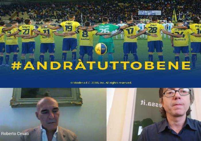 Modena Calcio, Cesati: 'C'è l'accordo su taglio indennità'