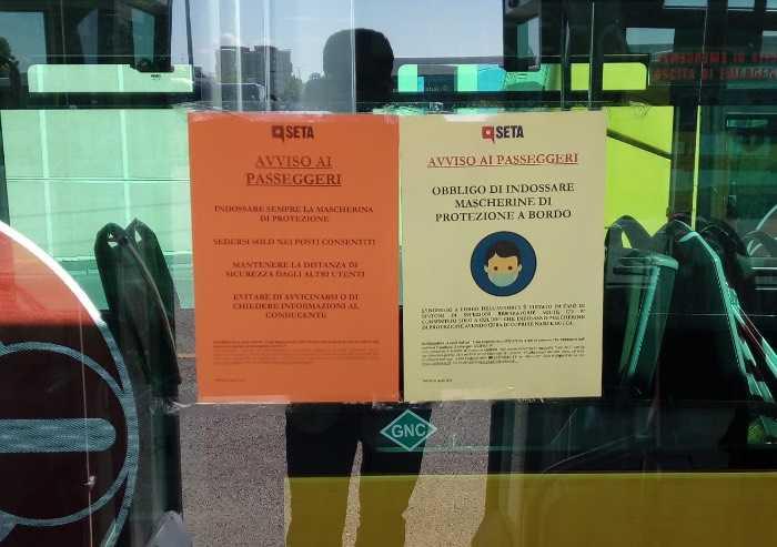 Coronavirus, Seta pronta alla fase 2: limite di capienza bus ridotto