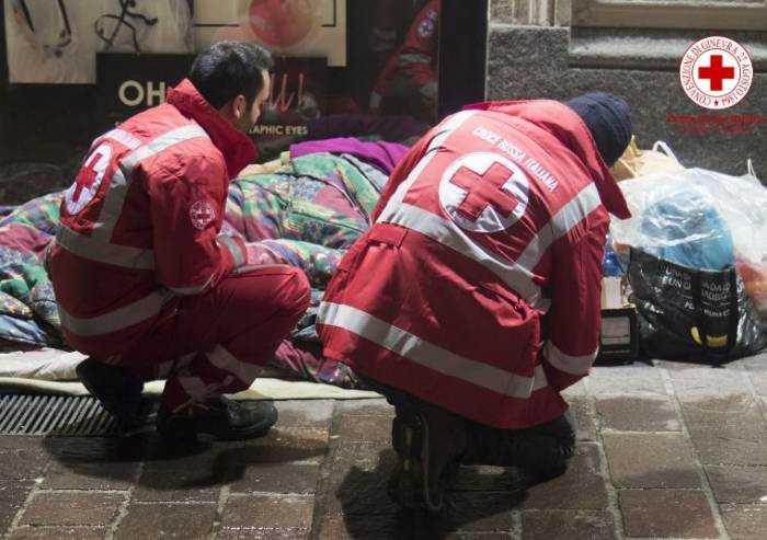 Coronavirus, Croce Rossa in campo anche per l'emergenza sociale