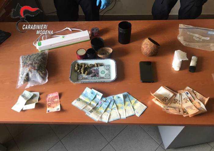 Spaccio droga: arrestati due giovani di Fiorano e Sassuolo