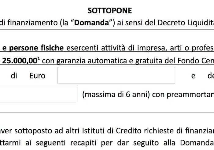 CGIA, Decreto liquidità: flop mini prestiti fino a 25.000 euro