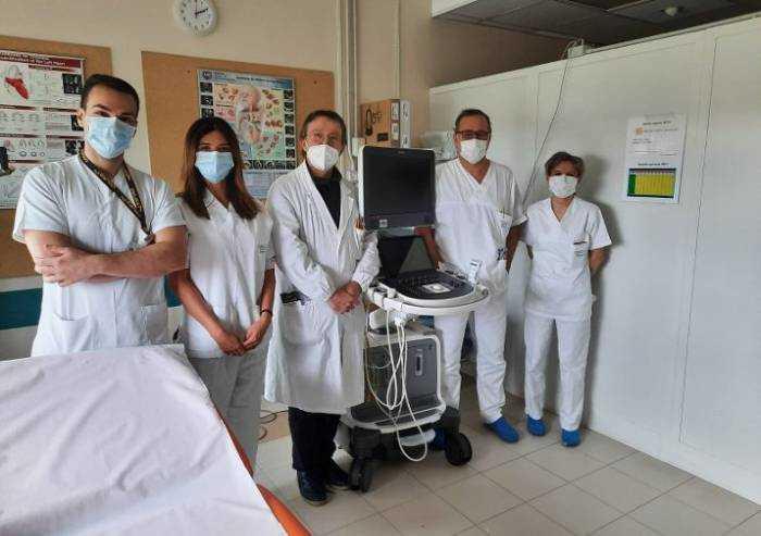 Da Stone Island un ecocardiografo per il Policlinico di Modena