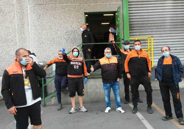 Fase 2, sciopero 1: presidi a Emilceramica e TNT