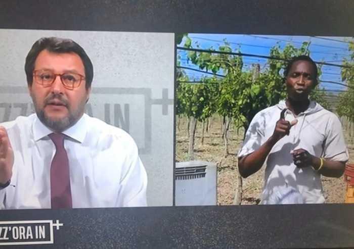 Salvini: 'Migranti irregolari, assurdo che scioperino i clandestini'