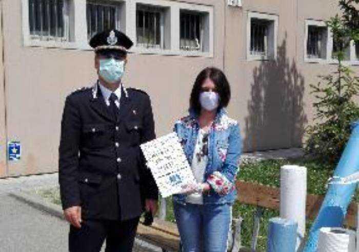 Carcere di Modena e Reggio, donato materiale per produrre mascherine
