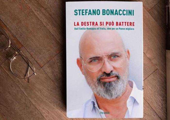 E Bonaccini presenta il suo libro: 'La destra si può battere'