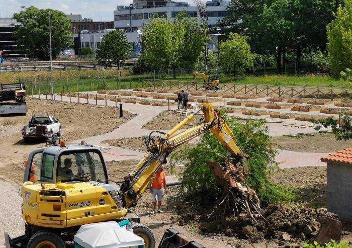 Via a verde e alberi sani, spazio agli orti urbani...in tangenziale