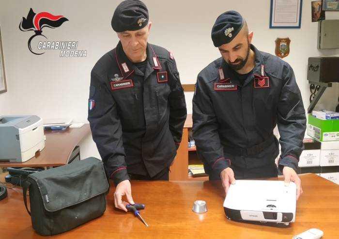 Castelfranco: due arresti per tentato furto aggravato e ricettazione