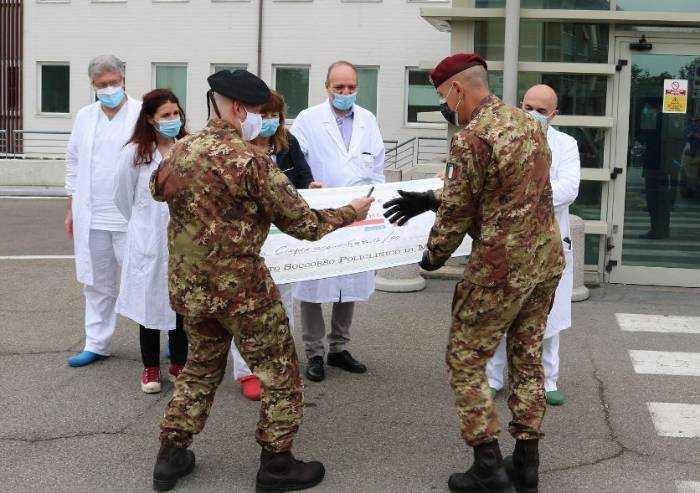 Covid, dall'Accademia militare di Modena 5670 euro al Policlinico