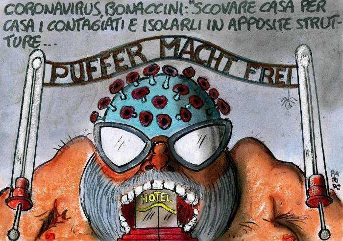 La minaccia di Bonaccini: 'Vi scoviamo casa per casa!'