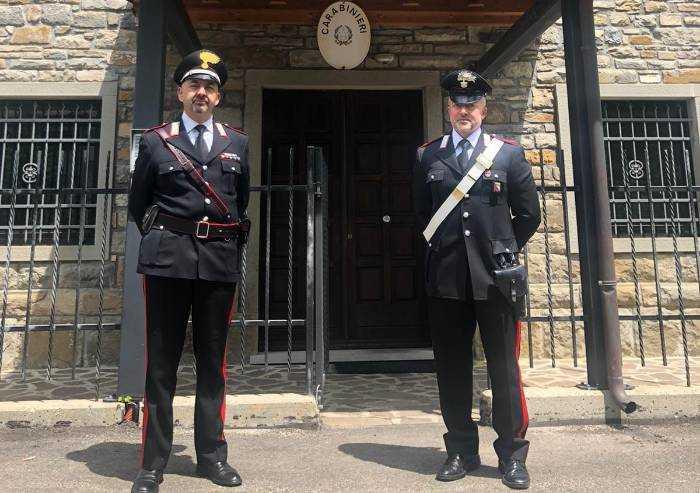 Frassinoro: insediato il nuovo comandante dei Carabinieri