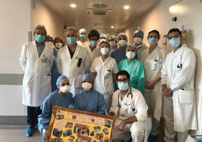 Si svuotano le aree covid aggiuntive degli ospedali di Modena