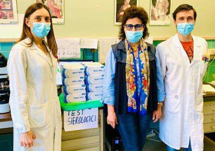 'La nostra Mirandola', donazione di 70mila euro all'ospedale