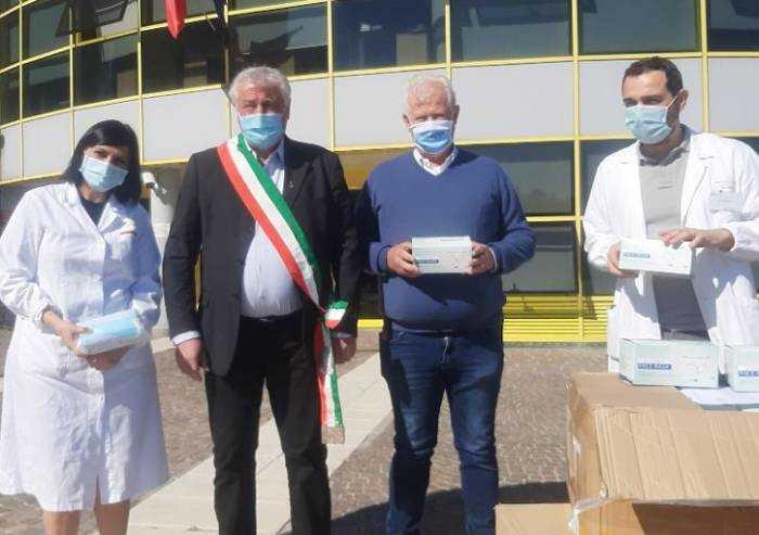 Ospedale di Sassuolo, 10mila mascherine in dono da Annovi